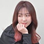 ラズベリーピンク 韓国ヘア グラデーションカラー ベリーピンク