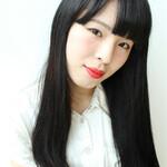 ストレート ロング ワンカール 艶髪
