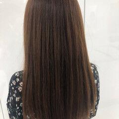 大人ロング ロング 縮毛矯正 髪質改善トリートメント ヘアスタイルや髪型の写真・画像