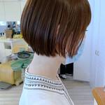 ミニボブ ショート ショートヘア ナチュラル