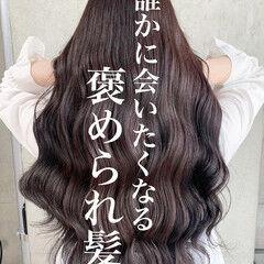 アッシュグレージュ エレガント ラベンダーアッシュ ピンクバイオレット ヘアスタイルや髪型の写真・画像