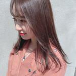 ストレート サロンモデル 外国人風カラー 韓国ヘア