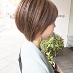 毛束感 ナチュラル ショート ショートヘア