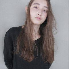 ストリート 外国人風 ロング くせ毛風 ヘアスタイルや髪型の写真・画像