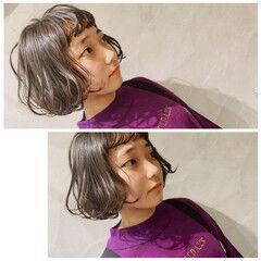 ミニボブ ボブヘアー モテボブ 高校生 ヘアスタイルや髪型の写真・画像