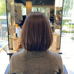 艶髪 お手入れ簡単!! ナチュラル 似合わせカット ヘアスタイルや髪型の写真・画像