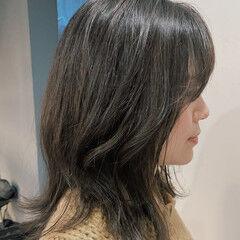 大人ヘアスタイル ママヘア 大人女子 伸ばしかけ ヘアスタイルや髪型の写真・画像