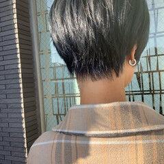 ブリーチ モード ショート ショートボブ ヘアスタイルや髪型の写真・画像