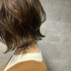 くびれカール ミニボブ フェミニン くびれボブ ヘアスタイルや髪型の写真・画像
