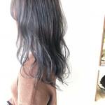 ナチュラル セミロング 艶髪