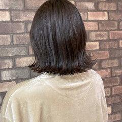 透明感 ナチュラル ボブ N.オイル ヘアスタイルや髪型の写真・画像