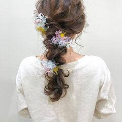 卒業式 フェミニン 成人式 デート ヘアスタイルや髪型の写真・画像