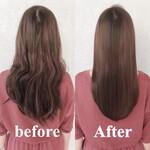 トリートメント 髪質改善トリートメント 似合わせカット 縮毛矯正