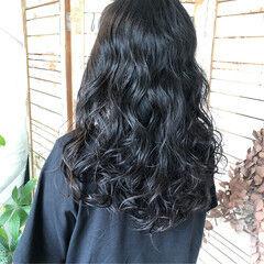 オフィス デート ナチュラル 黒髪 ヘアスタイルや髪型の写真・画像