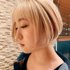 似合わせカット 阿藤俊也 PEEK-A-BOO ショートボブ ヘアスタイルや髪型の写真・画像
