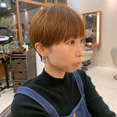 ショート ショートマッシュ ベリーショート ショートヘア ヘアスタイルや髪型の写真・画像