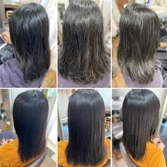フェミニン 髪質改善トリートメント 最新トリートメント 縮毛矯正 ヘアスタイルや髪型の写真・画像