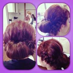 ギブソンタック ヘアスタイルや髪型の写真・画像