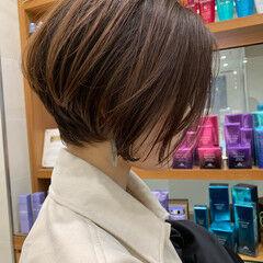 ショートボブ 似合わせカット 阿藤俊也 ナチュラル ヘアスタイルや髪型の写真・画像