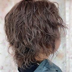 ショートヘア ショート ストリート ソバージュ ヘアスタイルや髪型の写真・画像