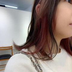 ミディアム 外ハネ 大人かわいい デート ヘアスタイルや髪型の写真・画像