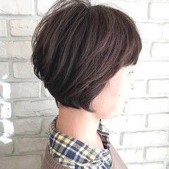ナチュラル 簡単 パーマ 透明感 ヘアスタイルや髪型の写真・画像