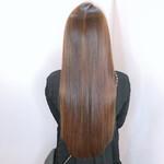 髪質改善カラー 髪質改善トリートメント ロング 髪質改善