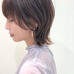 ショートヘア ウルフ ショート アンニュイほつれヘア ヘアスタイルや髪型の写真・画像