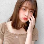 モテ髪 レイヤースタイル デジタルパーマ ナチュラル