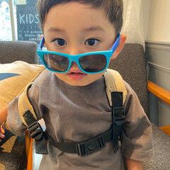 メンズショート キッズカット 子供 メンズカット ヘアスタイルや髪型の写真・画像
