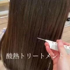 ナチュラル モテ髪 360度どこからみても綺麗なロングヘア クールロング ヘアスタイルや髪型の写真・画像