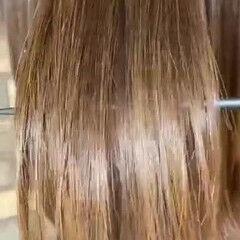 ナチュラル 縮毛矯正 髪質改善 ストレート ヘアスタイルや髪型の写真・画像