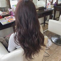 艶カラー ナチュラル ピンクベージュ 春色 ヘアスタイルや髪型の写真・画像