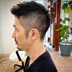 ショート ストリート ベリーショート スキンフェード ヘアスタイルや髪型の写真・画像
