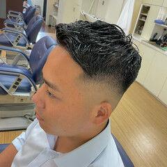 ストリート メンズ 刈り上げ メンズヘア ヘアスタイルや髪型の写真・画像