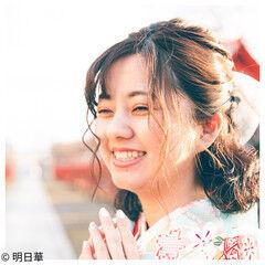 袴 卒業式 ヴィーナスコレクション エレガント ヘアスタイルや髪型の写真・画像
