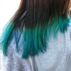 派手髪 ブリーチ ダブルカラー マニパニ ヘアスタイルや髪型の写真・画像