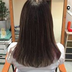 セミロング コンサバ 秋 モテ髪