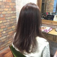 アッシュ 外国人風 ローズ ラベンダーアッシュ ヘアスタイルや髪型の写真・画像
