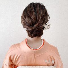 和装ヘア 結婚式ヘアアレンジ ボブ ミニボブ ヘアスタイルや髪型の写真・画像