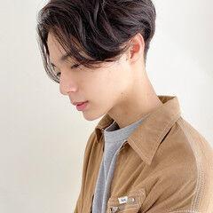 メンズマッシュ ショート メンズショート メンズカジュアル ヘアスタイルや髪型の写真・画像