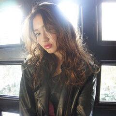 ロック ストリート グラデーションカラー 外国人風 ヘアスタイルや髪型の写真・画像