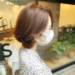 ゆるふわ 髪質改善 ナチュラル ショートヘアアレンジ ヘアスタイルや髪型の写真・画像