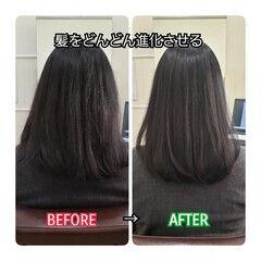 髪質改善 トリートメント 髪の病院 ナチュラル ヘアスタイルや髪型の写真・画像