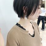 縮毛矯正 ショート ナチュラル ショートヘア
