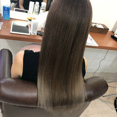 ガーリー 圧倒的透明感 透明感カラー 透明感 ヘアスタイルや髪型の写真・画像