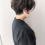 ショートヘア ショート 無造作パーマ ハイライト