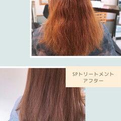 夏のヘアケア対策 髪質改善トリートメント ナチュラル 最新トリートメント ヘアスタイルや髪型の写真・画像