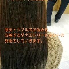 ナチュラル トリートメント ロング 髪の病院 ヘアスタイルや髪型の写真・画像