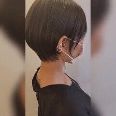 ナチュラル ハンサムショート コンパクトショート 似合わせカット ヘアスタイルや髪型の写真・画像